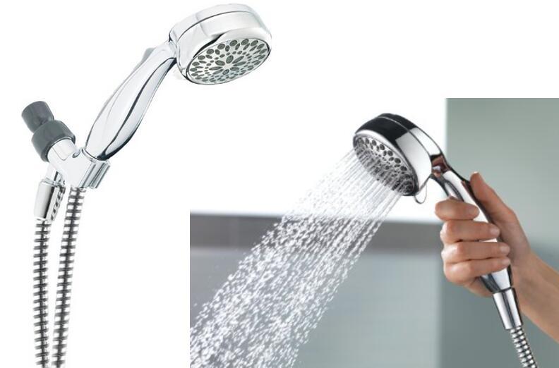 Delta Faucet 75700 Universal Showering Components 7-Setting Handshower Chrome