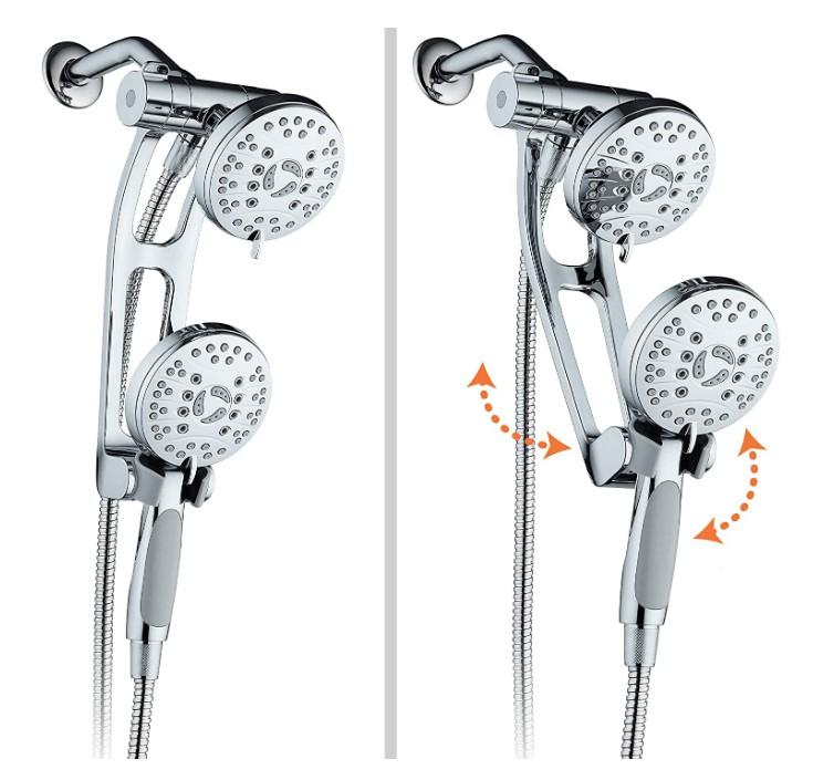 best pulsating shower head