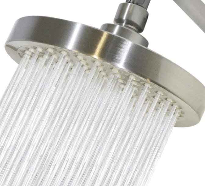 best rain shower head for low water pressure