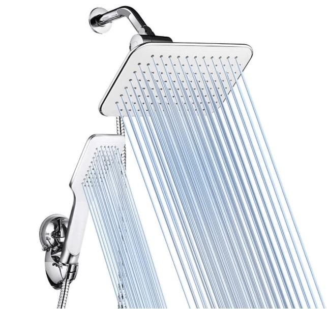 best shower hose for low pressure