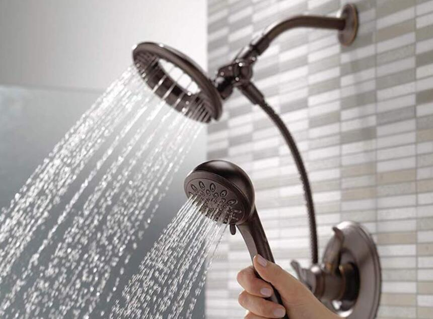 delta two showers in one 7 spray