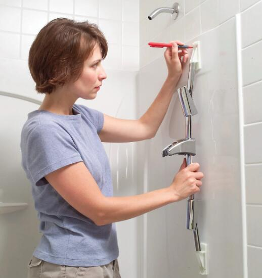 install a shower head for low pressure