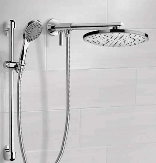 best large dual shower head
