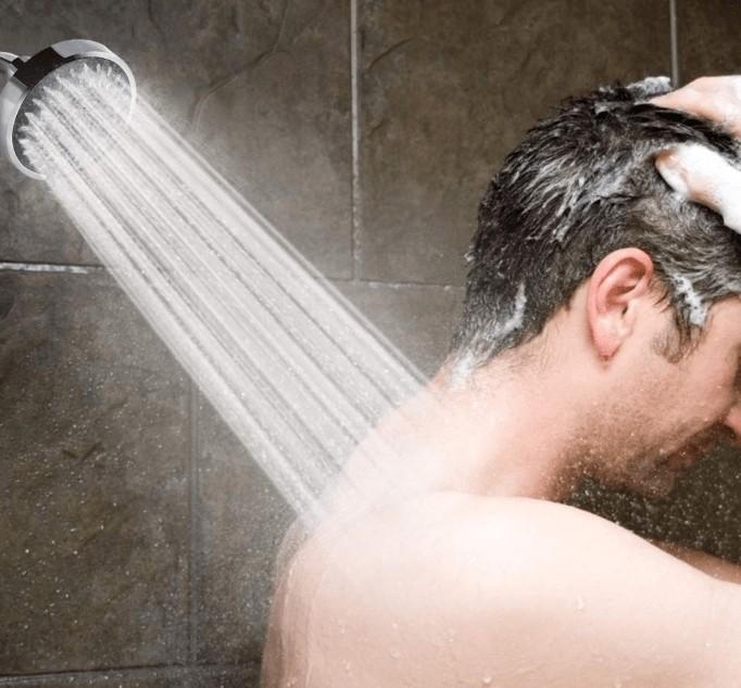 best low water pressure shower head