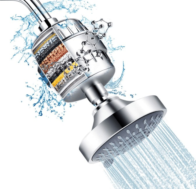 powerful filtered shower head reviews
