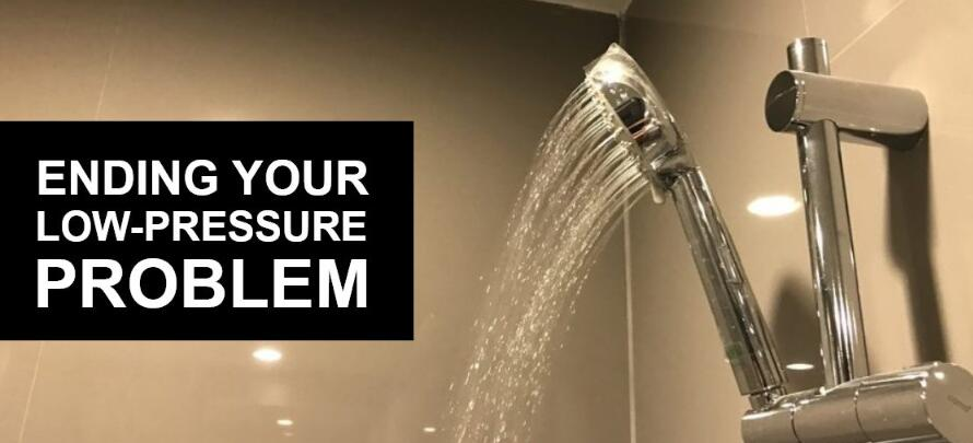 why my shower head has a low pressure