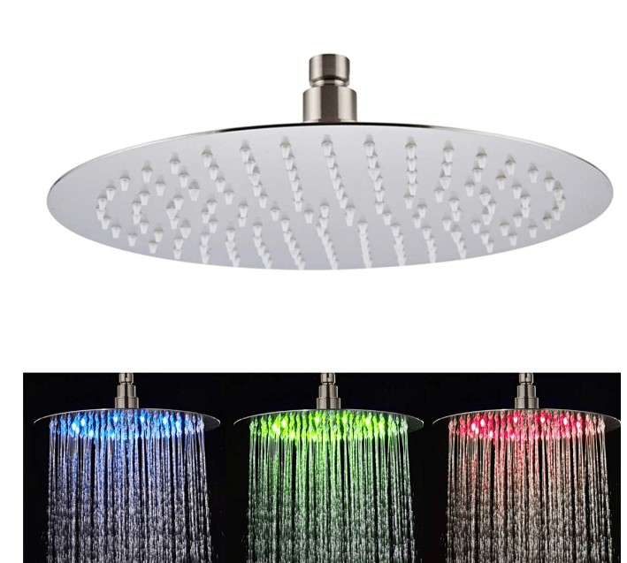 recessed ceiling mounted shower head