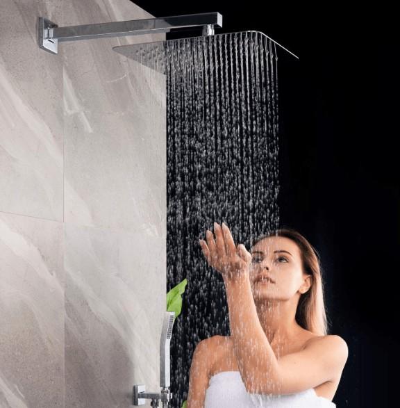 SR SUN RISE shower head chrome material