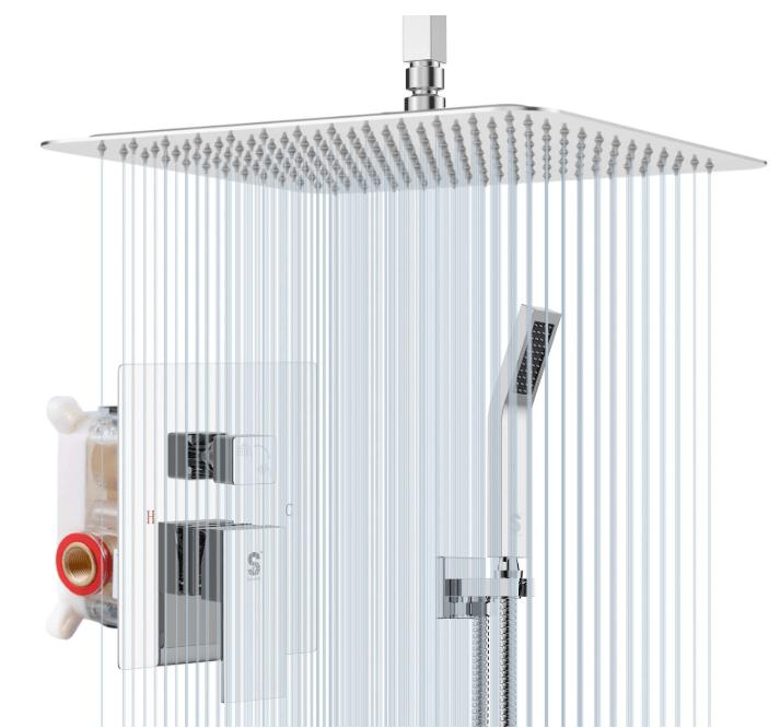 best ceiling mounted shower head
