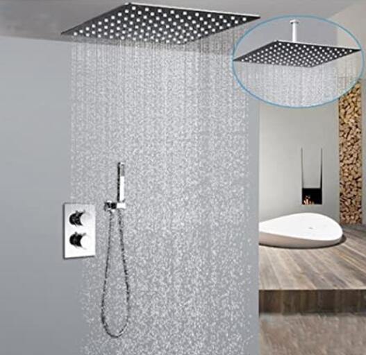 chrome shower head functions