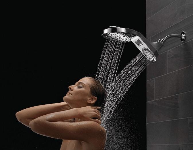 delta chrome shower head price