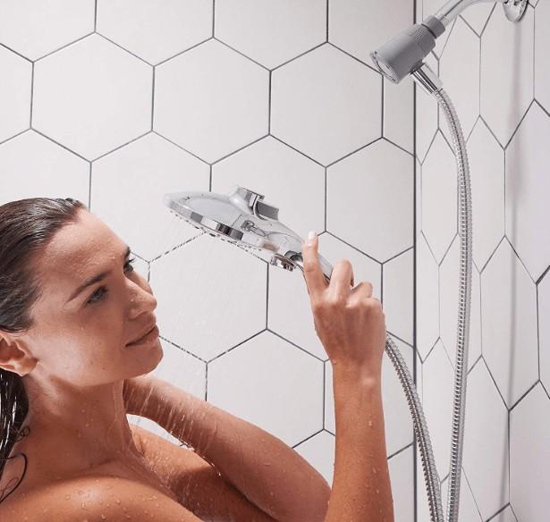 moen chrome shower head price