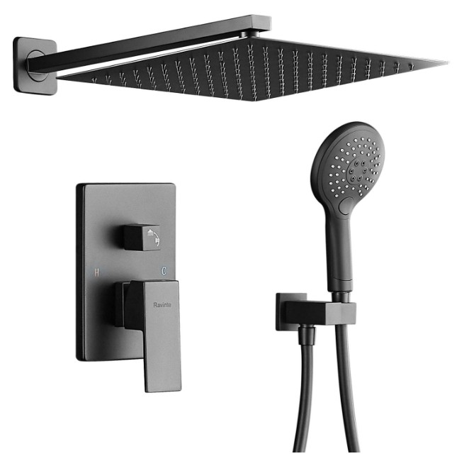 ain Shower System, Wall-Mounted