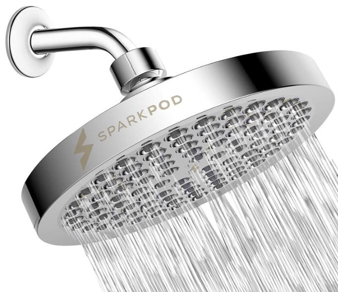 best sparkpod chrome shower head