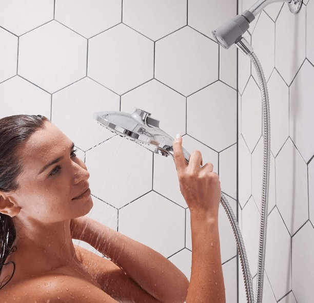 cheap moen shower head review