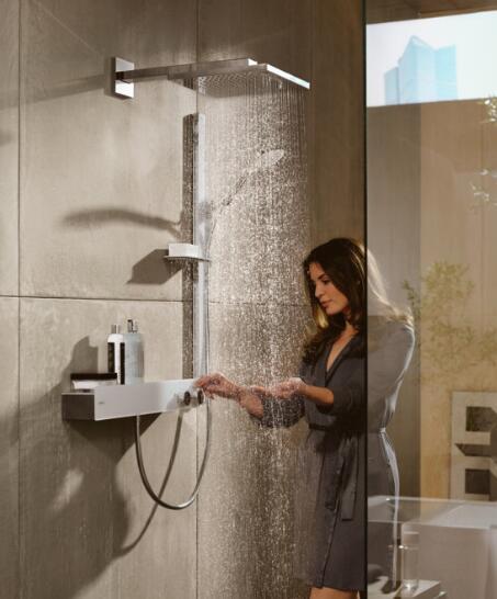 choosing a dual shower head with handheld