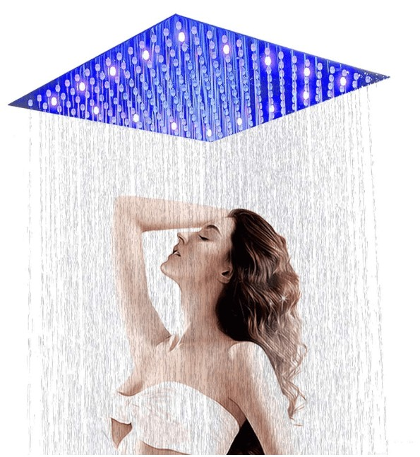 led rain shower head with high pressure reviews