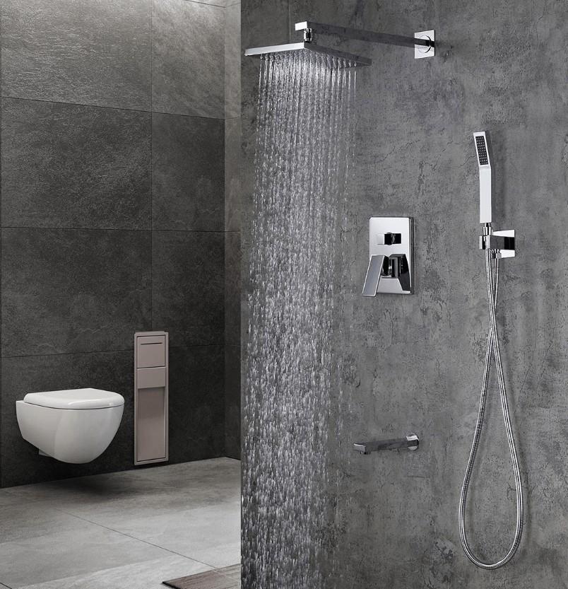 best rain shower with handheld
