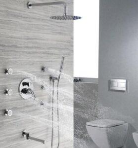 massage shower head handheld