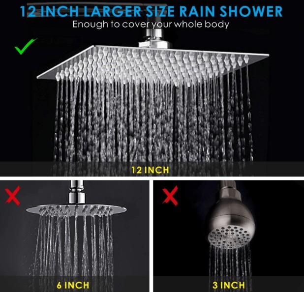 best high power shower head