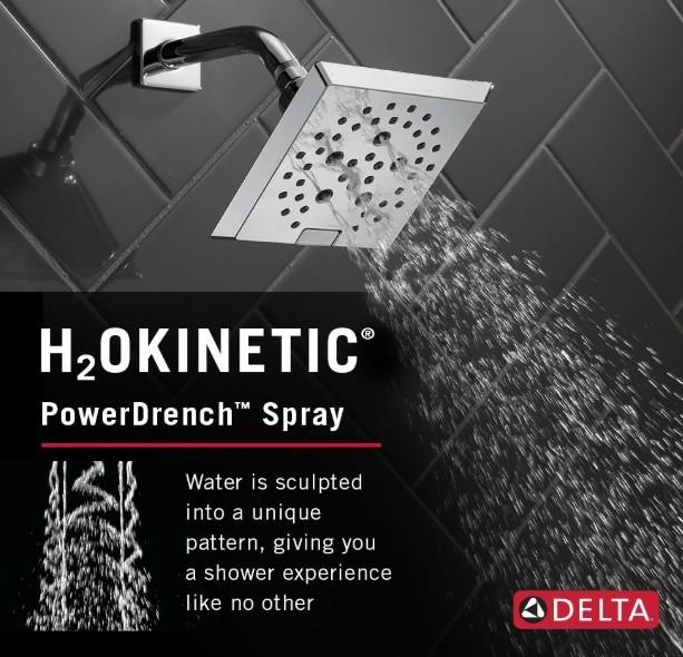 10 inch square rain shower head