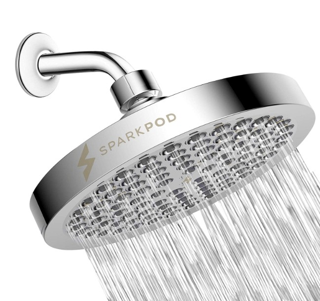 best chrome shower head for couples