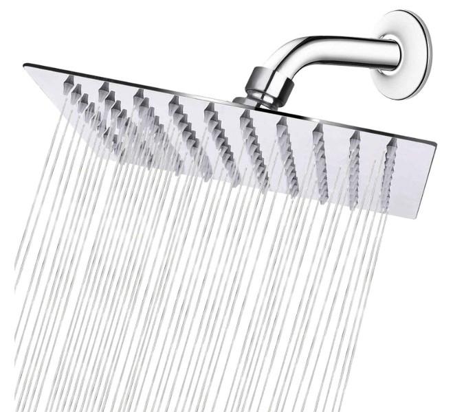 square rain shower head reviews