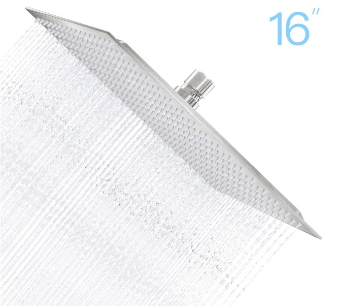 best square shower head for couples
