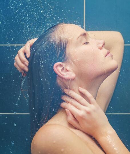 good waterfall shower head