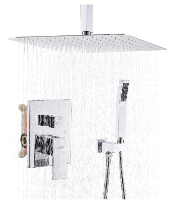 best overhead shower fixtures