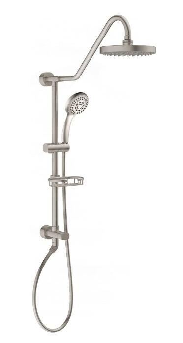 best overhead shower head with handheld