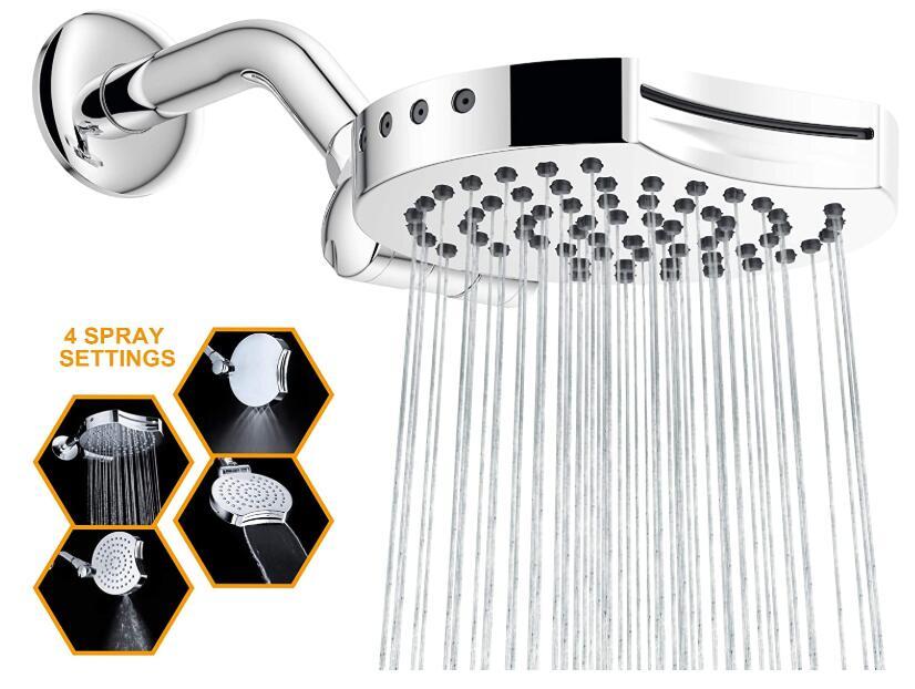 best shower head waterfall effect