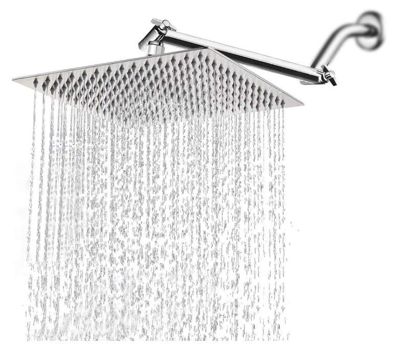 best wall mounted waterfall shower head