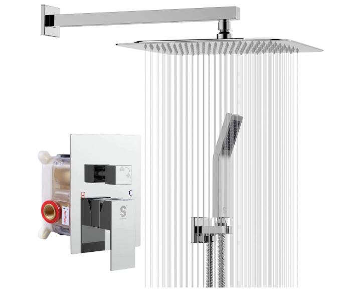 best waterfall shower system