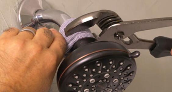 installing shower fixtures