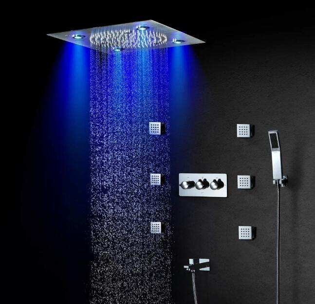 bathroom led shower head