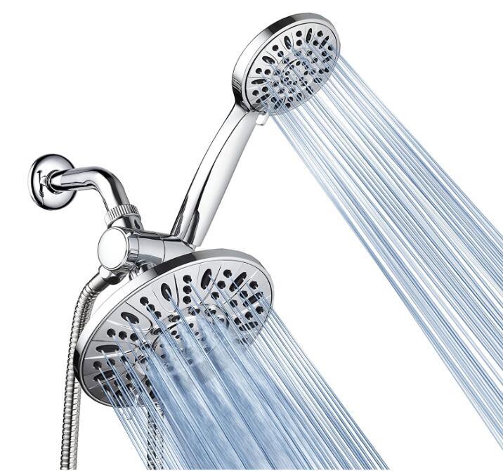 best combination shower head and handheld