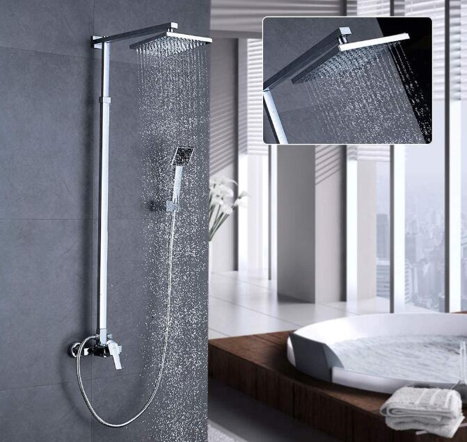 rain spa shower head combo