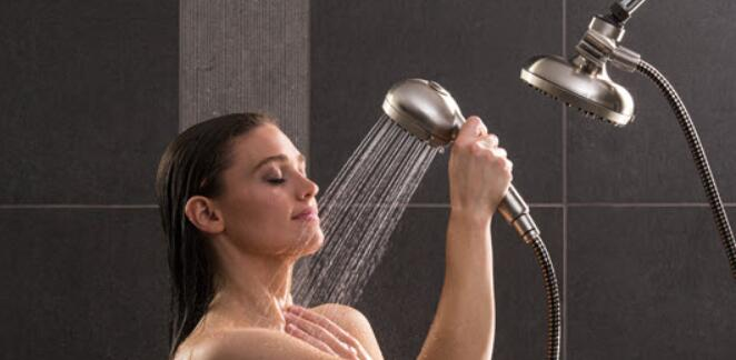 best shower head and wand combination