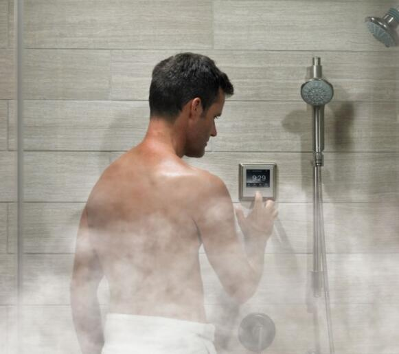 steam shower generator installation