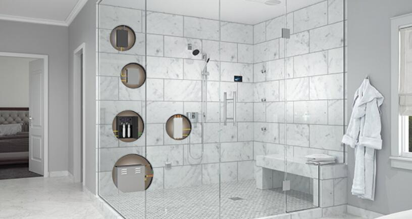 steam shower seat