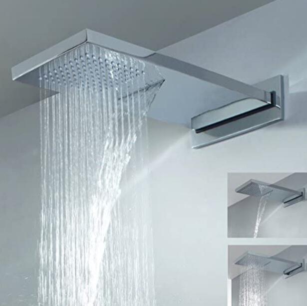 best waterfall shower head for bath