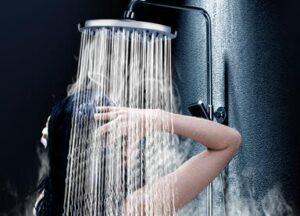 health benefits of rain shower head