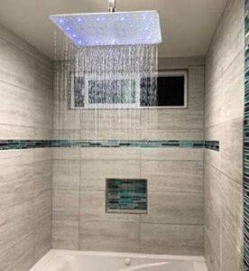 pros of rain shower head