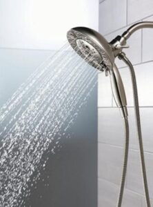 large flow rate shower head system