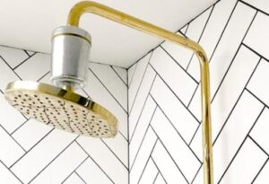 why using filtered shower head