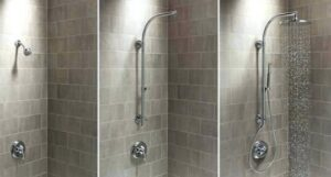 guides on adjusting delta rain shower head