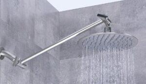 delta rain shower head guides