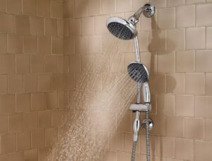 How to Convert Single Shower Head to Dual