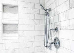 shower valve height